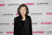 Lily Tomlin Sequined Jacket