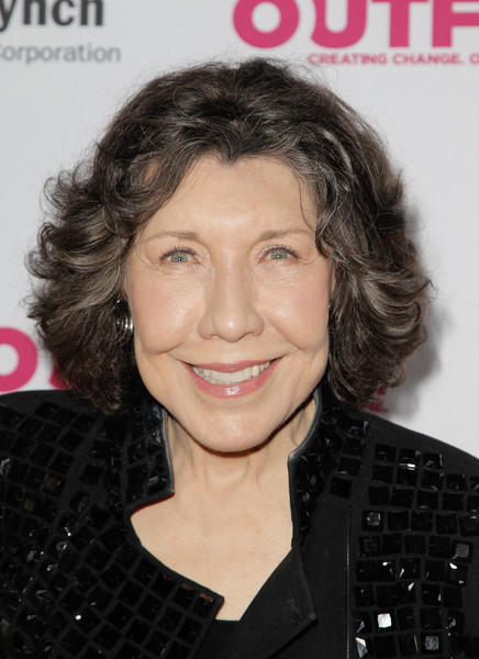 Lily Tomlin Curled Out Bob [red carpet,hair,face,hairstyle,eyebrow,chin,forehead,magazine,lip,brown hair,layered hair,lily tomlin,vibiana,los angeles,california,outfest legacy awards]