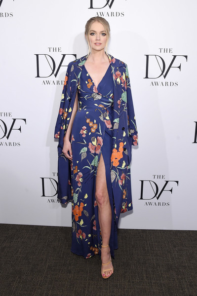 Lindsay Ellingson Wrap Dress