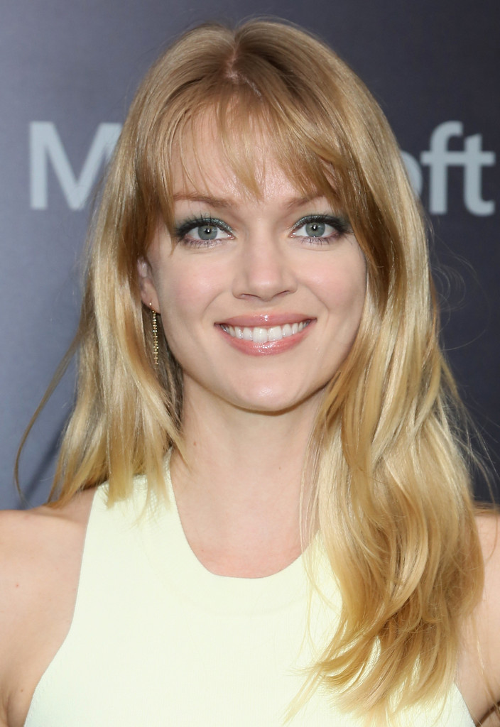 Naomi Campbell Hair Bangs Lindsay Ellingson Long...