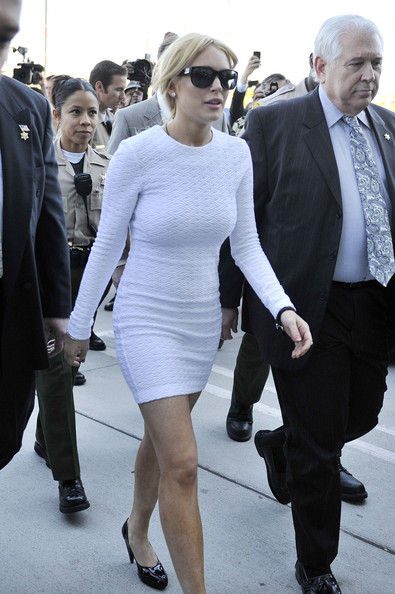 Lindsay Lohan Day Dress