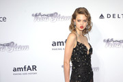 Lindsey Wixson Beaded Dress