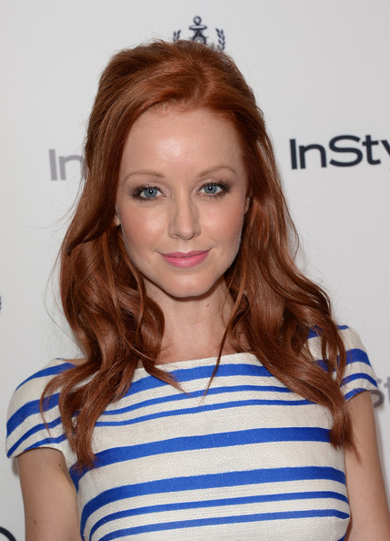 Lindy Booth Half Up Half Down