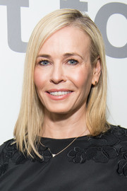 Chelsea Handler went for a modern asymmetrical lob when she attended a LinkedIn panel discussion.
