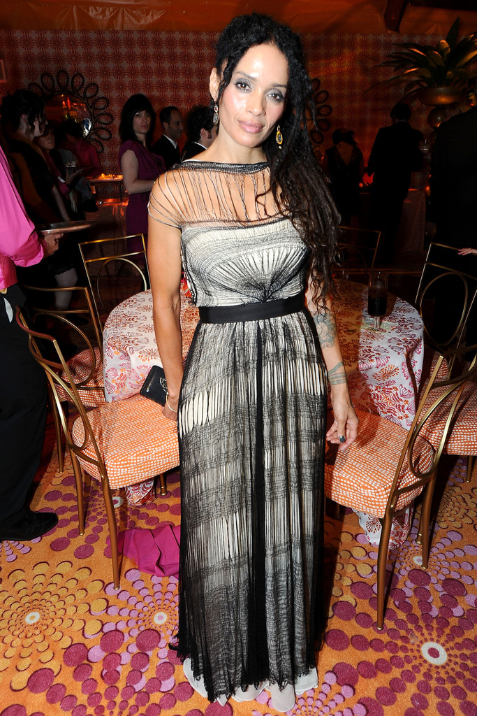 Lisa Bonet Evening Dress Lisa Bonet Looks Stylebistro