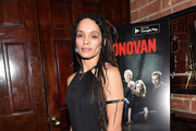 Lisa Bonet Little Black Dress