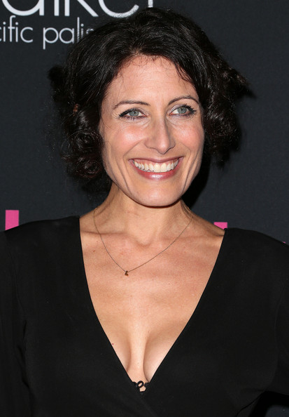 Lisa Edelstein Pinned Up Ringlets