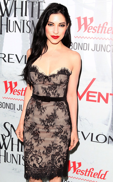 Lisa Origliasso Evening Dress