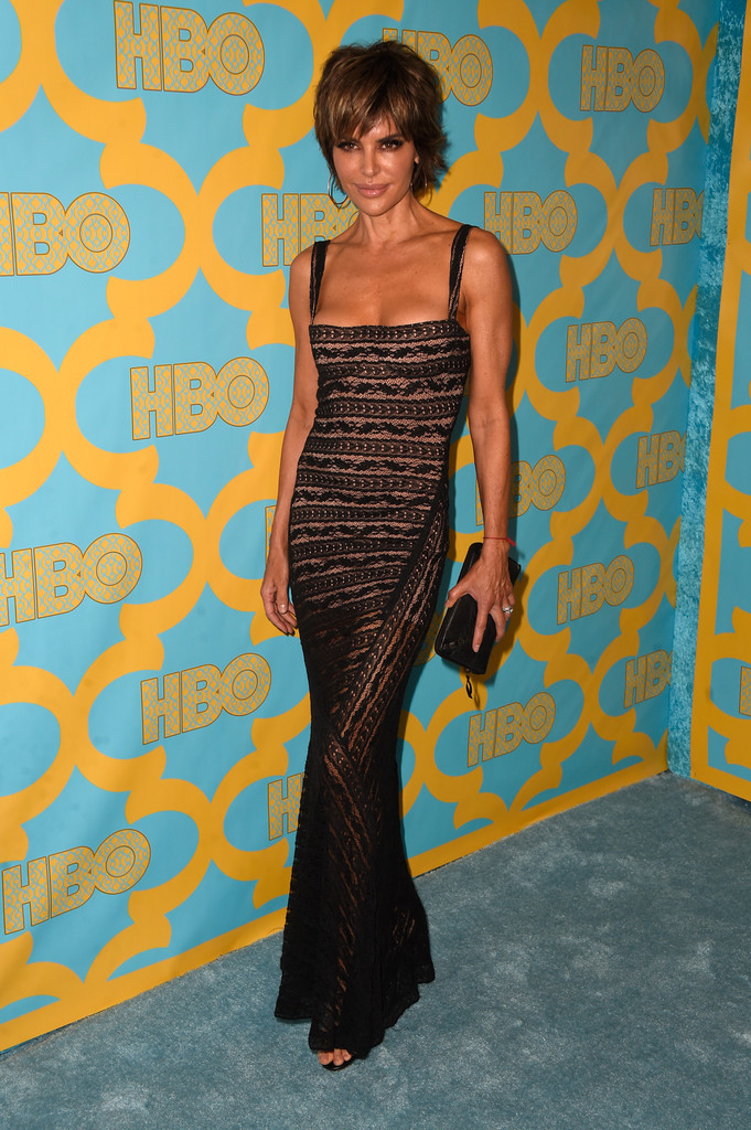 Lisa Rinna Evening Dress Lisa Rinna Looks Stylebistro