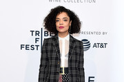 Tessa Thompson Studded Boots