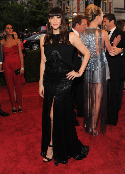 Liv Tyler Evening Dress
