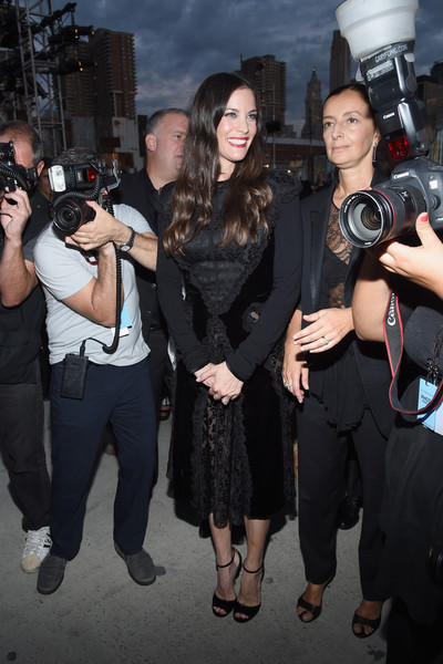 Liv Tyler Little Black Dress