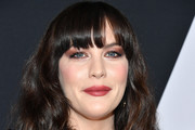 Liv Tyler Long Wavy Cut with Bangs