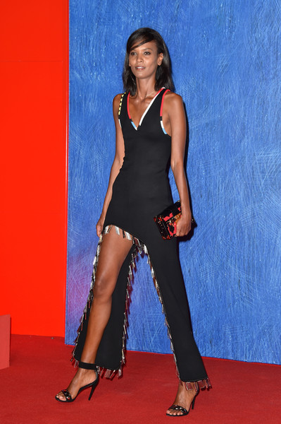 Liya Kebede Form-Fitting Dress