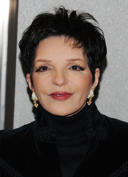 Liza Minnelli Dangling Diamond Earrings