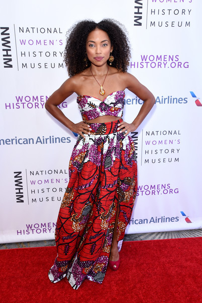 Logan Browning Crop Top