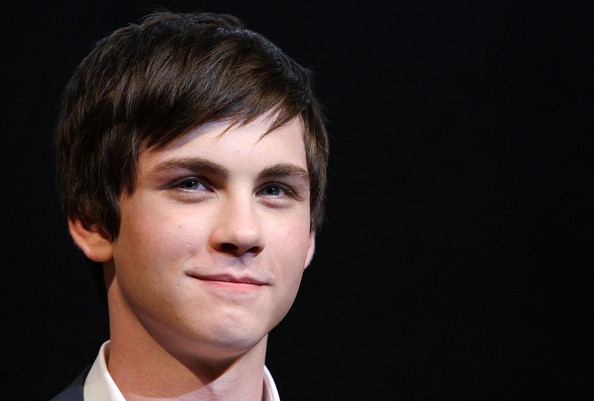 Logan Lerman Emo Bangs