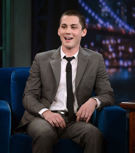 More Pics of Logan Lerman Men's Suit (1 of 17) - Logan Lerman Lookbook - StyleBistro