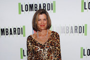 Wendy Malick Wears a Leopard Print Dress