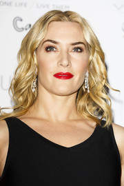 Kate Winslet looked radiant with her glossy blonde waves at the London Critics' Circle Film Awards.