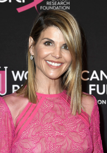 Lori Loughlin Medium Straight Cut [hair,hairstyle,pink,blond,eyebrow,chin,layered hair,hair coloring,brown hair,shoulder,arrivals,lori loughlin,beverly hills,california,beverly wilshire four seasons hotel,womens cancer research fund,the womens cancer research fund,an unforgettable evening benefit gala]