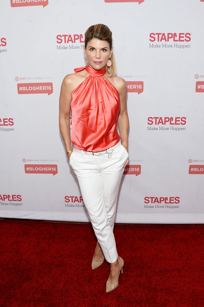 Lori Loughlin Halter Top