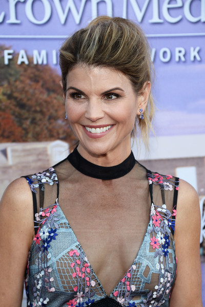 Lori Loughlin Loose Ponytail