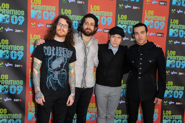 Former Fall Out Boy drummer Andy Hurley has very colorful sleeve tattoos on both arms.