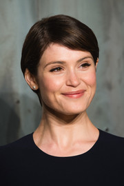 Gemma Arterton looked sweet and youthful with her neat short 'do at the Lost in Space event.