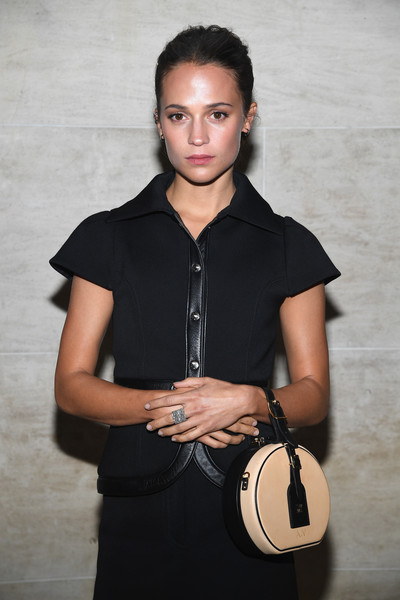 More Pics of Alicia Vikander Ankle Boots (2 of 5) - Alicia Vikander Lookbook - StyleBistro