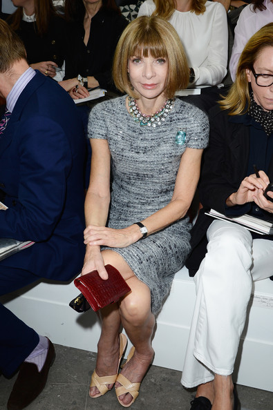 More Pics of Anna Wintour Evening Pumps (1 of 3) - Anna Wintour Lookbook - StyleBistro