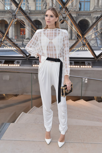 Elena Perminova at Louis Vuitton