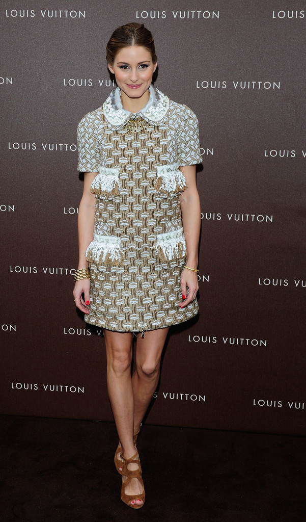 Olivia Palermo's Louis Vuitton Shift Dress