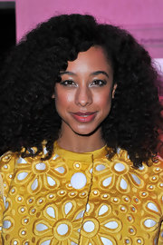 Corinne Bailey Rae attended the Louis Vuitton - Marc Jacobs exhibition wearing her long hair in voluminous curls.