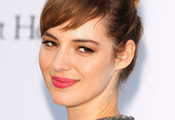Louise Bourgoin Loose Bun