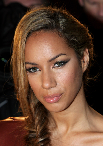 More Pics of Leona Lewis Long Braided Hairstyle (1 of 12) - Long Braided Hairstyle Lookbook - StyleBistro