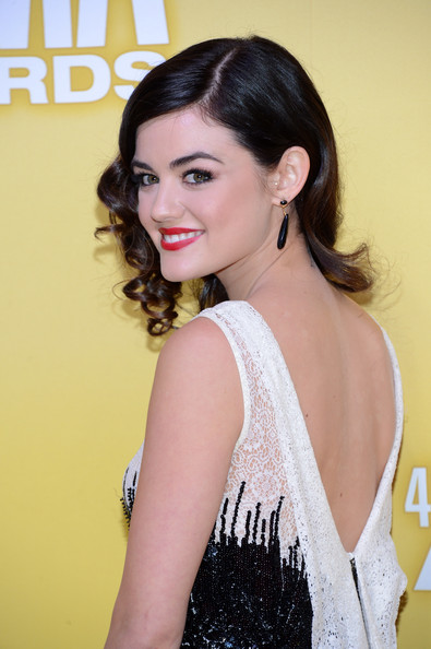 Lucy Hale Dangle Decorative Earrings