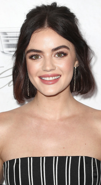 Lucy Hale Half Up Half Down