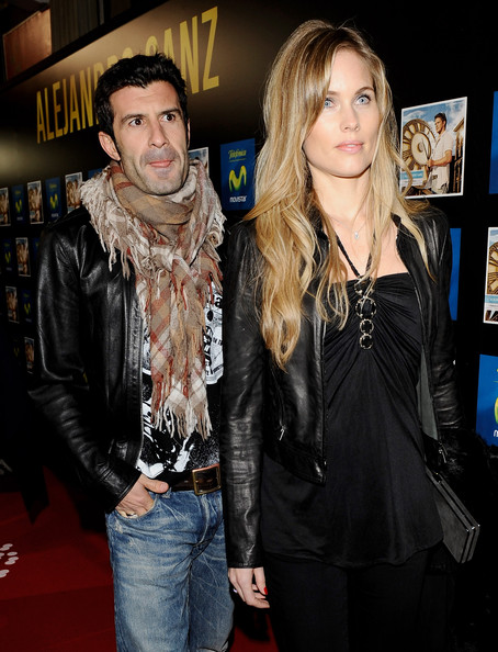 Luis Figo Patterned Scarf
