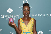 Lupita Nyong'o Gemstone Inlaid Clutch