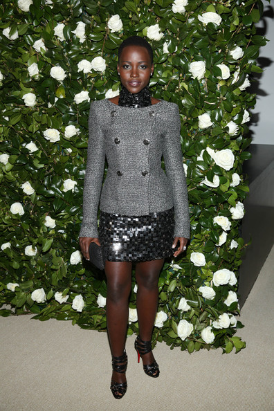 Lupita Nyong'o Tweed Jacket