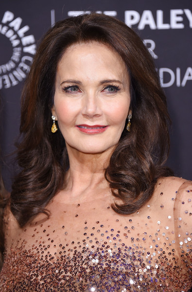 Lynda Carter Medium Curls [paley honors: celebrating women in television,hair,face,hairstyle,eyebrow,brown hair,beauty,chin,premiere,lip,long hair,lynda carter,new york city,cipriani wall street,the paley honors: celebrating women in television,event]
