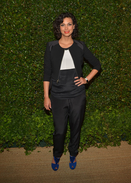 More Pics of Morena Baccarin Short Curls (6 of 7) - Morena Baccarin Lookbook - StyleBistro