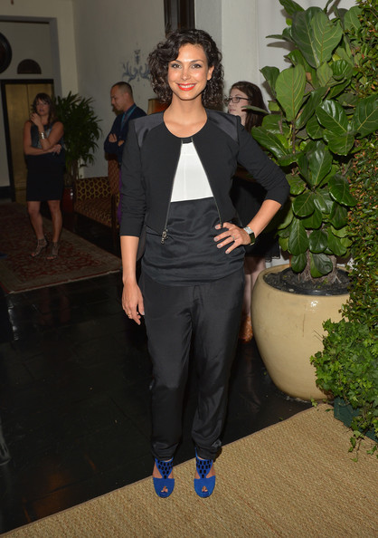More Pics of Morena Baccarin Short Curls (4 of 7) - Morena Baccarin Lookbook - StyleBistro