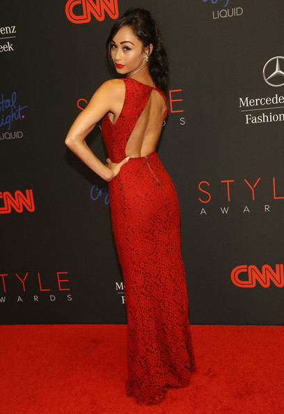 More Pics of Cara Santana Evening Dress (1 of 6) - Evening Dress Lookbook - StyleBistro