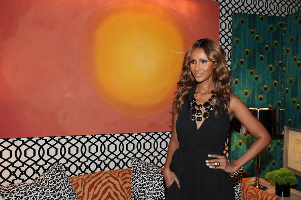 Iman in MBFW Spring 2011 - Official Coverage - People and Atmosphere Day 1