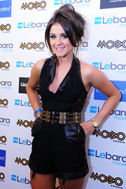 Brooke Vincent wore her hair in an edgy retro bouffant at the 2011 MOBO Awards. Her 'do completed her cool look perfectly.