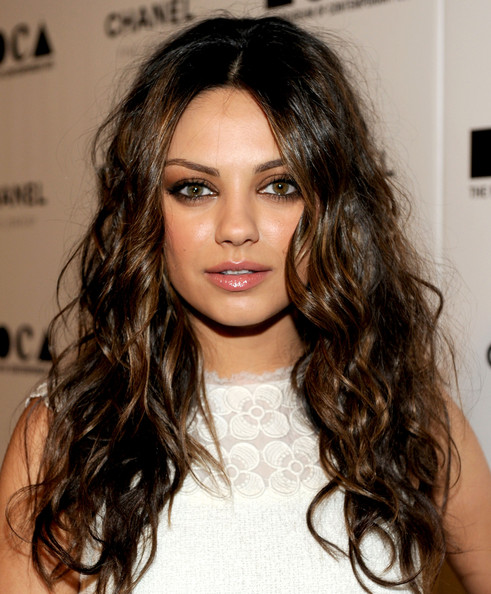More Pics of Mila Kunis Long Curls (1 of 3) - Mila Kunis Lookbook - StyleBistro
