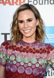 Keltie Knight looked cute with her piecey waves at the Hollywood's Night Under the Stars event.