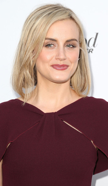 More Pics of Taylor Schilling Hard Case Clutch (1 of 15) - Clutches Lookbook - StyleBistro [mptf reel stories,hair,blond,face,hairstyle,shoulder,clothing,eyebrow,beauty,chin,neck,taylor schilling,california,los angeles,milk studios,real lives event]